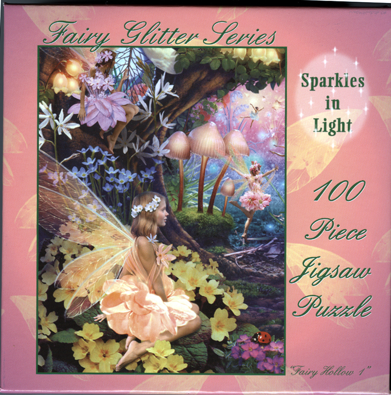 Primary image for Fairy Jigsaw Puzzle with Ballerina Fairies & Ladybug