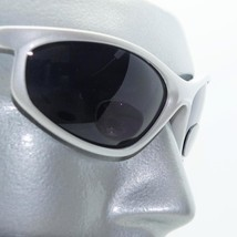 WrapAround Sunglasses +1.75 Bifocal Reading Glasses with Cord Matte Silver Frame - $24.00