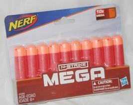 NERF N-Strike Mega Power Darts Ammunition Bullets Toy Gun Soft Refill 10... - $5.65
