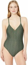 Prana One Piece Swimsuit Green Bikini Outdoor Beach Pool Summer Classic ... - $65.41