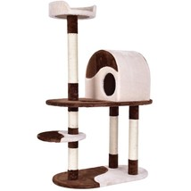 Activity Tower Cat Tree w/  Scratching - $80.00