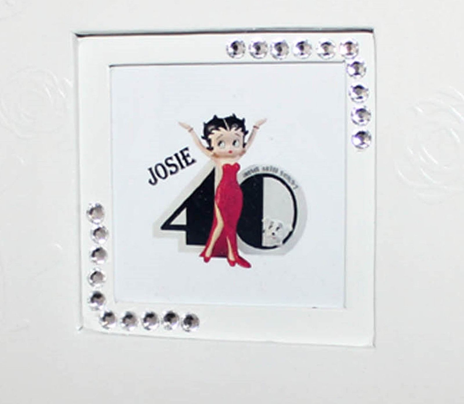 Betty Boop 40th Birthday Leather Photo Album Personalised gift  #8