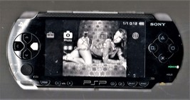 PlayStation Portable PSP 1001 with Power supply, Battery & Cary Case image 2