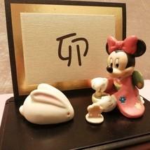 Disney Minnie Mouse Figure Hinge Box 2005 Jewelry Case Kato Crafts 1000 ... - $58.41