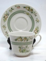 Royal Doulton Cup and Saucer Tonkin TC1107  Green Band England - $6.92