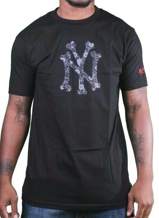 SSUR Nomad Ny OS Hommes Blanc ou Noir Graphique T-Shirt