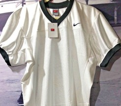 NWT NIKE Lineman White Black Football Jersey Adult Men's Small Mesh $46 ... - $24.99