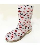 New Children's Rain Boots Print Colors Kids Boys Girls Snow Slip On, Siz... - $31.68