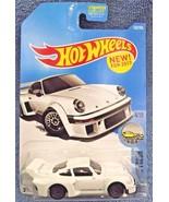2017 Hot Wheels #153 Factory Fresh 4/10 PORSCHE 934.5 White w/Gray Lace ... - $5.89