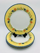 "Set Of 4 Studio Nova French Chateau HD001 Salad Plates 7 5/8"" - $34.60"
