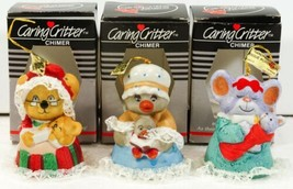 Jasco Caring Critters Chimer Animal Bells Anthropomorphic in Boxes - $18.99