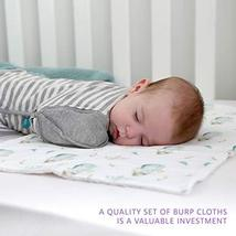Burp Cloths by Elka&Finch. Soft Absorbent Baby Cloths That Have You Covered. wit image 7