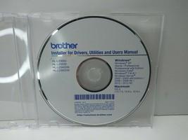 Genuine Brother HL-L2300D HL-2320D Printer CD Software Drivers Utilities... - $7.95