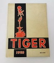 Vintage Warsaw High School Tiger 1953 Yearbook Indiana FREE SHIPPING - $30.48