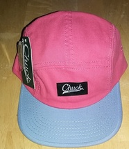 New Original Chuck Pink Blue Casual Hat Cap Snap-Back One Size New - £15.43 GBP