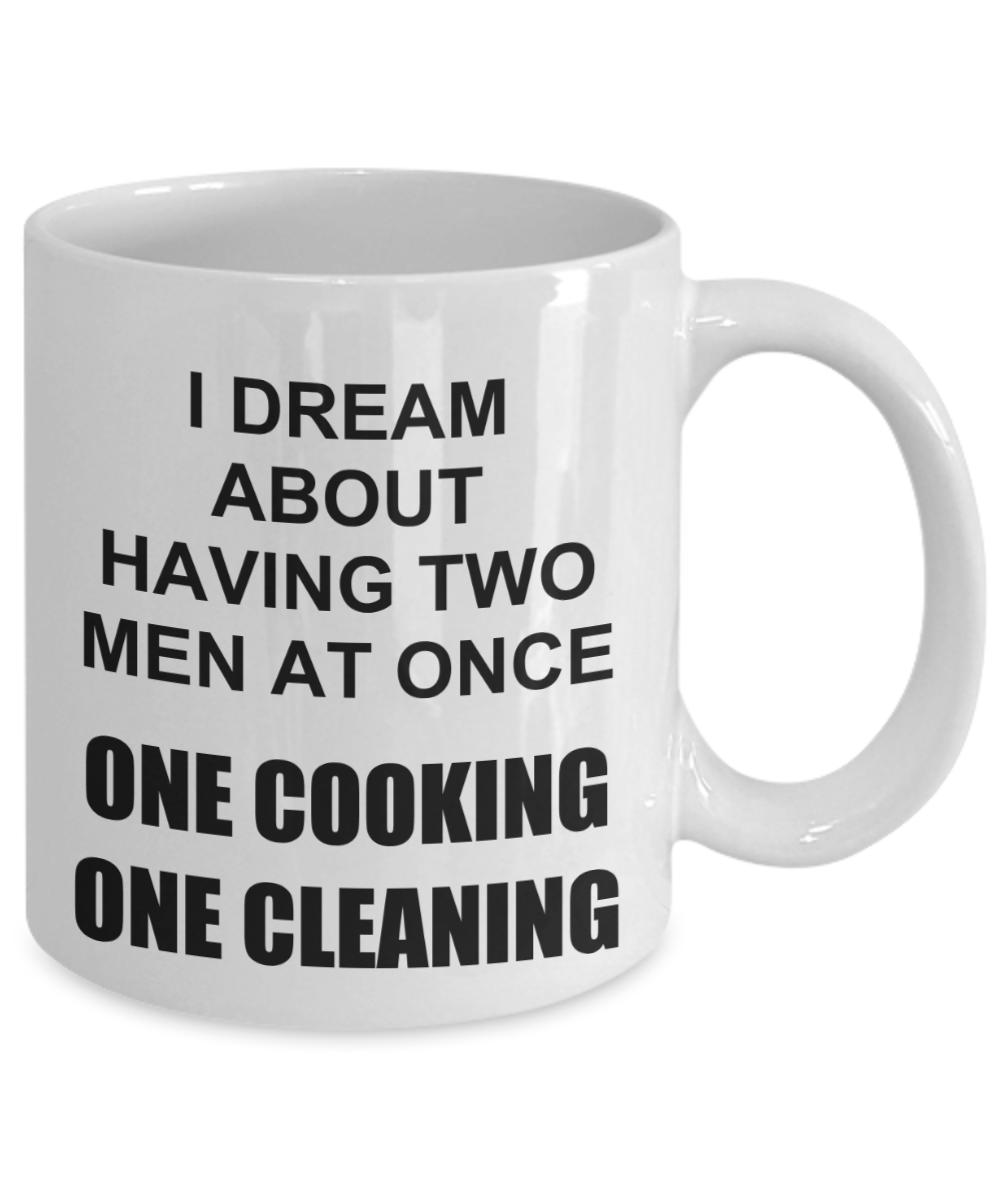 Sexy Threesome Gifts For Wife Fiance Girlfriend Funny Prank Birthday Coffee Mug