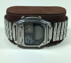 Vintage Seiko H239-5040 A3Silver Wave Ani-digi Watch Parts / Repair - $63.11