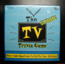 University Games 2004 The Ultimate TV Trivia Game Still in Factory Seale... - $10.99