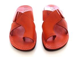 Leather Sandals for Men and Women BROOKLYN by SANDALIM Biblical Greek Su... - $39.83 CAD+
