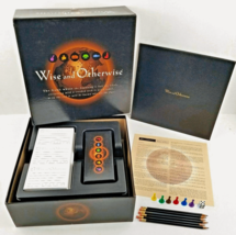 Wise and Otherwise Board Game Where the Beginning is Half the Whole 1997 EUC - $29.65