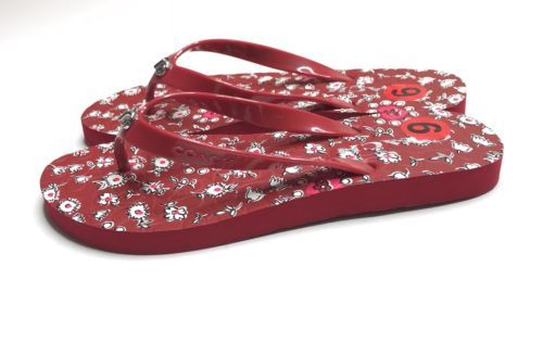8bae4bb6f1ec Coach Flip Flops NEW Women Size 5-6 Red and 23 similar items