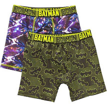 BATMAN DC SUPERHERO 2-Pack Boxer Briefs Underwear NWT Boys Size 6, 8 or ... - $7.99