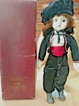 "Vintage Musical Doll ""Somewhere My Love"" 17"" Bisque/Porcelain Matador Dr... - $49.49"