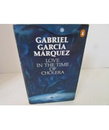 LOVE IN THE TIME OF CHOLERA BY GABRIEL GARCIA MARQUES SOFTCOVER BOOK 1989 - $5.89