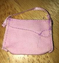 Barbie Doll Pink Purse Handbag Accessory Diorama - $3.47