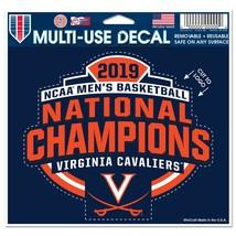 Virginia Cavaliers National Champions Multi-Use Decal, 2019  - $3.99