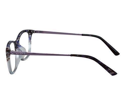 c402b0ca10b6 EBE Reading Glasses Mens Womens Retro Style Blue White Purple Metal Stems