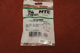NTE385 Audio Power Amp, Switch,Transistor New - $8.90