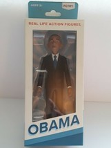 Post-Presidency Obama Real Life action figure FCTRY 21899 Brand New Seal... - $34.64