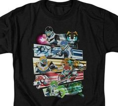 Voltron cast t-shirt Animated TV series retro 80s graphic tee DRM325 image 3