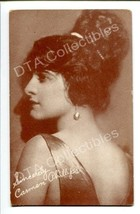 CARMEN PHILLIPS-PORTRAIT-1920-ARCADE CARD G - $21.73