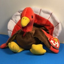 1997 BEANIE BABIES VINTAGE PLUSH STUFFED ANIMAL RETIRED TY TAG GOBBLES T... - $19.75