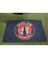Pearl Jam Banner Flag Boston Paul Revere 3ft x 5ft 2018 Fenway Park Conc... - $58.41