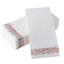 BloominGoods Disposable Dinner Napkins 17x17 Decorative Bathroom Paper Hand Towe - $33.59