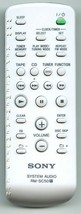 SONY RMSC50 (p/n: A1108433B) Audio System Remote Control (NEW) - $26.71