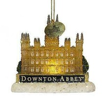 Downton Abbey® Light Up Castle Ornament w - $24.99