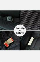 SUPSOO Dog Car Seat Cover Waterproof Durable Anti-Scratch Nonslip Back Seat Pet  image 10