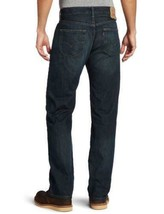 NEW LEVI'S STRAUSS 501 MEN'S PREMIUM STRAIGHT LEG JEANS BUTTON FLY 501-0990 image 2