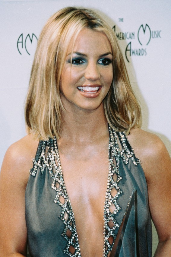 Primary image for Britney Spears Busty Revealing Dress Color 24x18 Poster