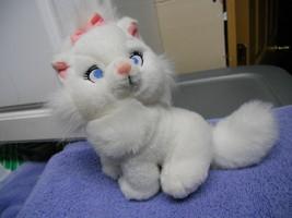 """Aristocats Marie Plush cat white  7"""" Tall Kitty Kitten - $5.82"""