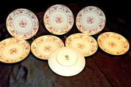 Noritake China (8 Saucers) Charmaine 5506 AA20-2360B Vintage image 4