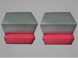 4 x silberfarbene rosafarbene, Magnetverschluss. Tolle Box, Geschenkscha... - $29.66