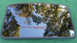 1996 Lexus LS400 Oem Factory Year Specific Sunroof Glass W/TRIM No Accident - $130.00