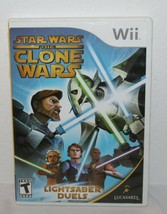 Wii Star Wars: The Clone Wars - Lightsaber Duels video game Nintendo Wii - $5.93