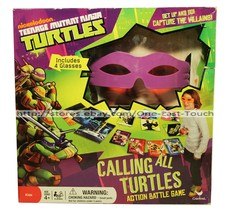 TEENAGE MUTANT NINJA TURTLES* Calling All ACTION BATTLE GAME Capture Vil... - $12.14