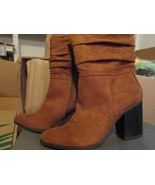 Apt. 9 Ladies Brown High heel boot size 9 Brand New in box - $25.00